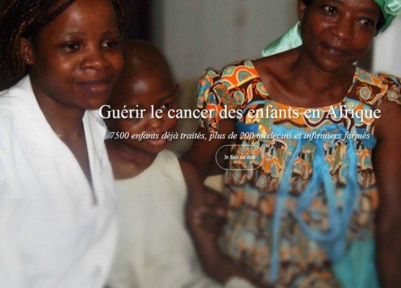 Cancer : soigner les enfants en Afrique