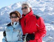 Au ski, lunettes de soleil toute la journée !