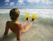 Nager avec des palmes, c'est le pied !