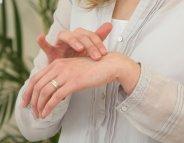 Des mains tout en douceur