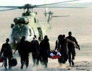L'armée française soigne ses blessés… sur le terrain