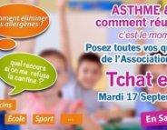 Asthme et allergies : un 'tchat' pour une rentrée au top