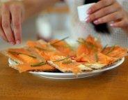 A Noël, le saumon, un «aliment santé»