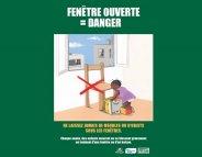Défenestrations : appel à la vigilance des parents