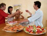 Menu Santé : le raffinement de l'apéritif dinatoire