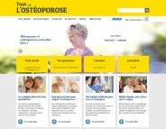 « Tout sur l'ostéoporose » : le site qui prend soin de nos os
