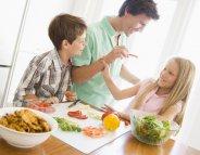 Parents instruits, enfants bien nourris