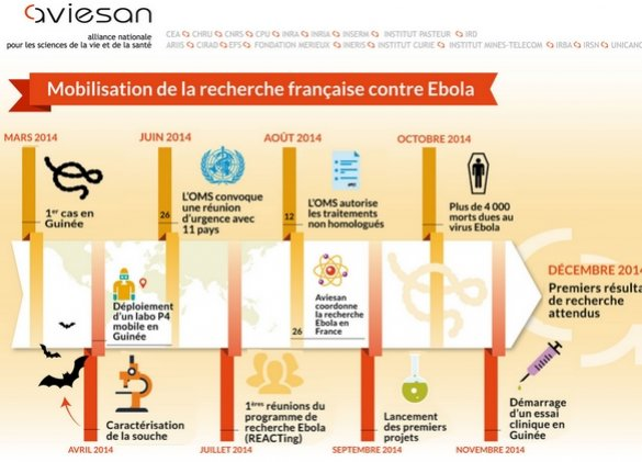 فيروس إيبولا، أين وصلت الأبحاث في فرنسا؟