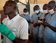 Ebola : la France soutient les soignants guinéens