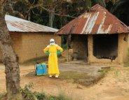 Ebola : les cas recensés à la baisse