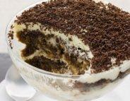 Menus santé : le tiramisu, la star des desserts italiens