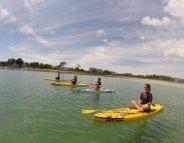 SUP Yoga : zen, sur l'eau !
