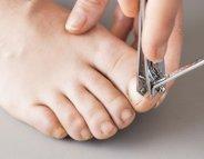L'hygiène des pieds jusqu'au bout des ongles