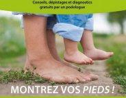 Santé du pied : consultez gratuitement un podologue