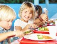 Cantine : l'équilibre dans l'assiette !