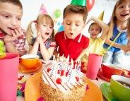 Menu santé : un goûter d'anniversaire à sa santé !