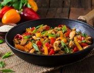 Menus santé : le wok, et que ça saute !