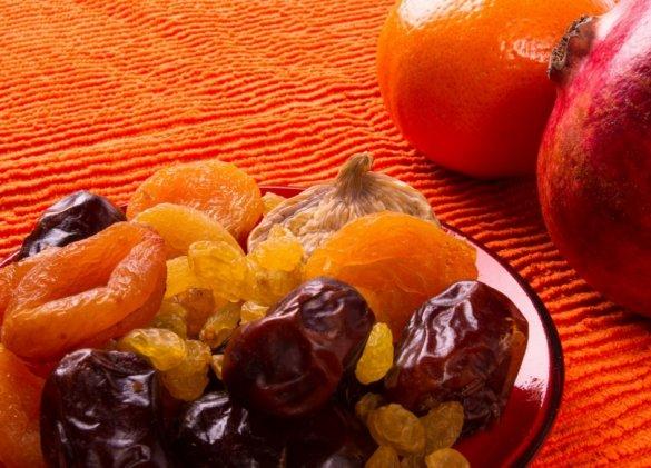 Menus santé : les fruits secs, douceur et énergie