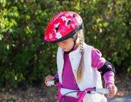 Enfant à vélo : casque obligatoire sous peine d'amende