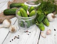 Menus santé : les cornichons, petits mais forts en goût