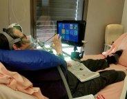 Handicap : une chambre domotisée à l'hôpital
