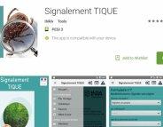 Maladie de lyme : une appli' géolocalise les tiques