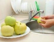 Quelle est la meilleure façon de nettoyer une pomme ?