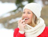 Au ski, les lèvres aussi doivent être hydratées