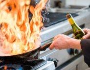Menus Santé: l'alcoolpasse aux fourneaux
