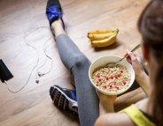 Après le sport : pour récupérer, mangez !