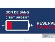 Avant les ponts de mai, un appel urgent aux dons de sang
