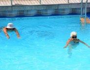 Dans l'eau, l'activité physique en douceur
