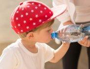 Pour les enfants, indispensable hydratation