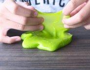 Slime : une pâte pas vraiment inoffensive