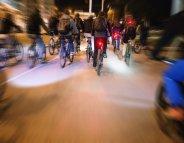 Sécurité routière : trop de vélos mal éclairés la nuit