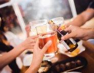 Même une consommation modérée d'alcool augmente le risque d'hypertension