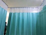 Les rideaux des hôpitaux, réservoirs à bactéries