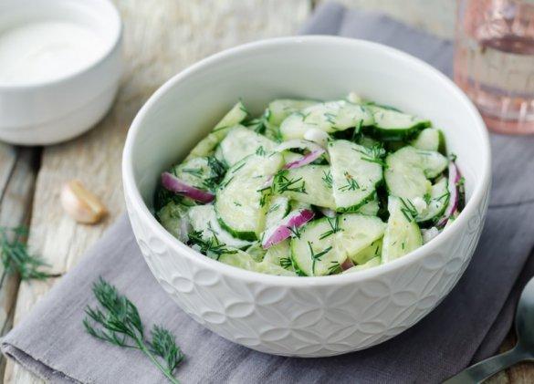 Menus-Santé : la simplicité du concombre