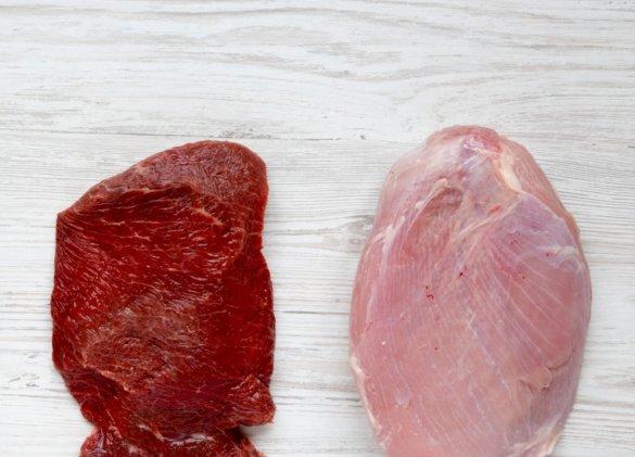 Cholestérol : viande rouge et blanche… également néfastes