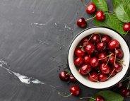 Menus santé : l'été, le temps des cerises