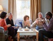 Après 60 ans, l'entourage social contre la démence