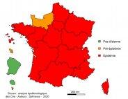 Grippe : seule la Normandie fait de la résistance