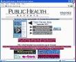 Public Health Reports Oxford