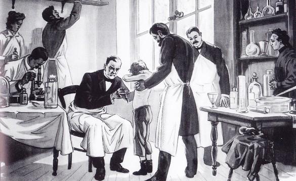 Assez Louis Pasteur, la rage de guérir - Histoire de la Médecine  PU18