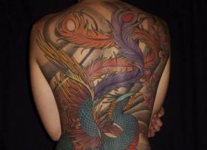 Près de 90% des tatouages sont réalisés « en couleur ». ©Syndicat National des Artistes Tatoueurs - Tatouage réalisé par Tin-Tin.