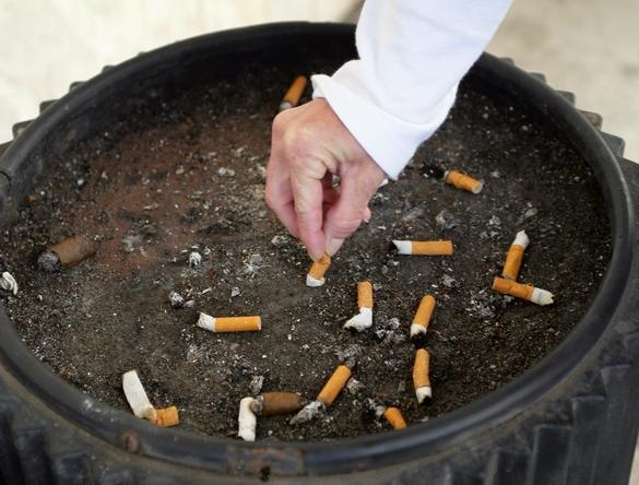 cigarette dehors