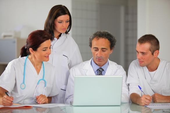 Moins de 8% des hôpitaux européens partagent des informations médicales par voie électronique. ©Phovoir