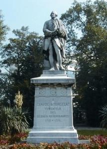 La Statue de Bourgelat à Maisons-Alfort. ©Ecole vétérinaire d'Alfort