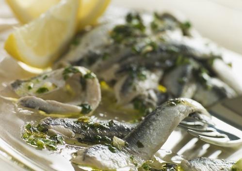 Riches en oméga 3, les anchois sont bons pour la mémoire. ©Phovoir