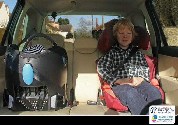 Un dispositif mal installé = mise en danger de votre enfant !